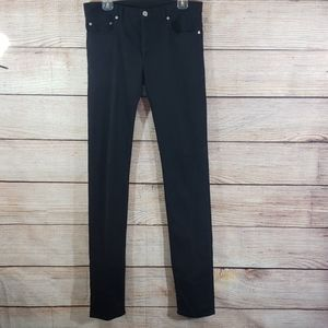 DIOR HOMME Black Stretch Denim Skinny Jean